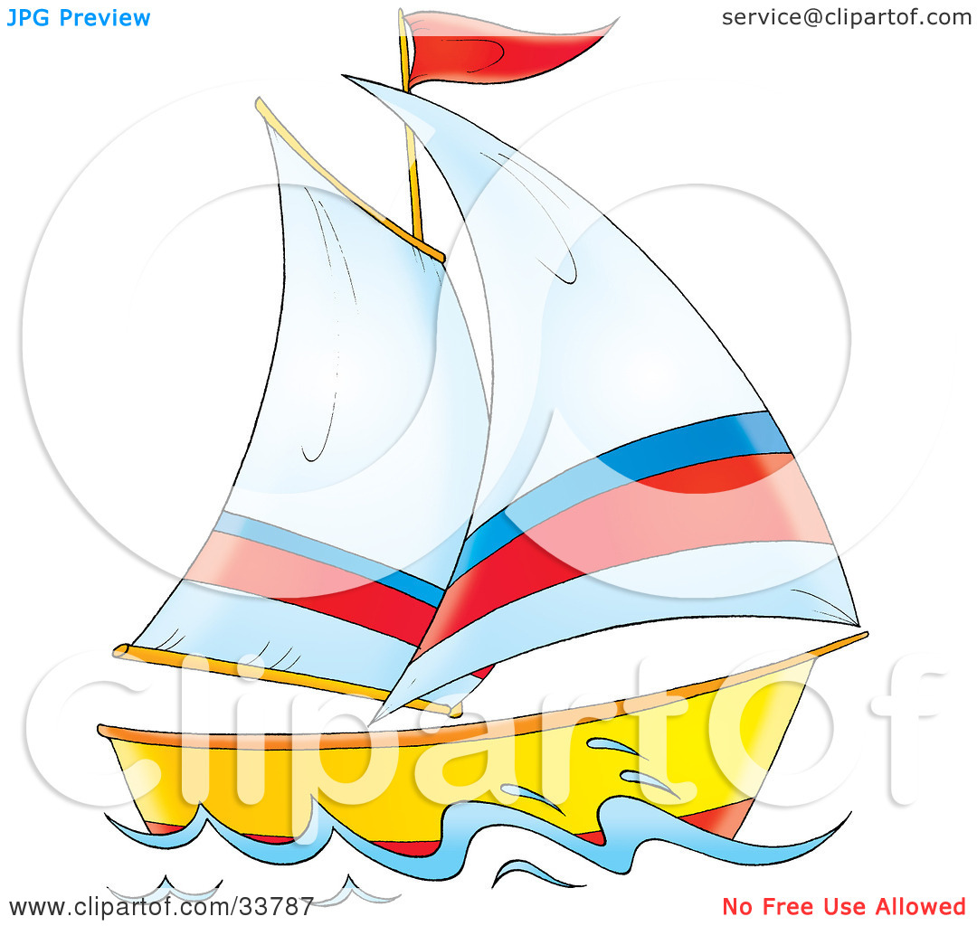Sailing vessel clipart - Clipground