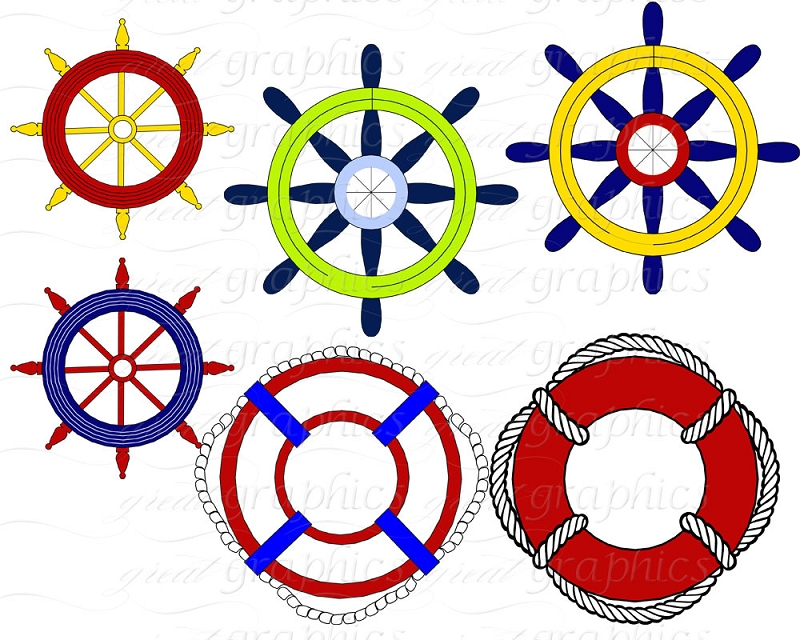 Nautical Flag Clipart.