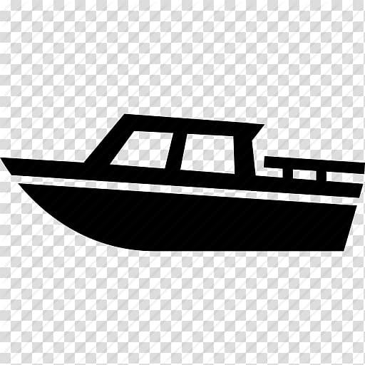 Black boat illustration, Motor Boats Computer Icons Ship.