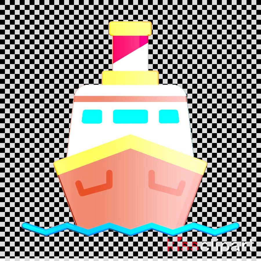 Travel icon Ship icon Boat icon clipart.