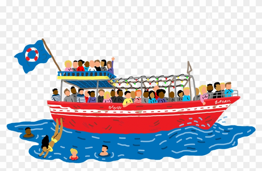 Cruise Clipart Boat Ride ~ Frames ~ Illustrations ~.