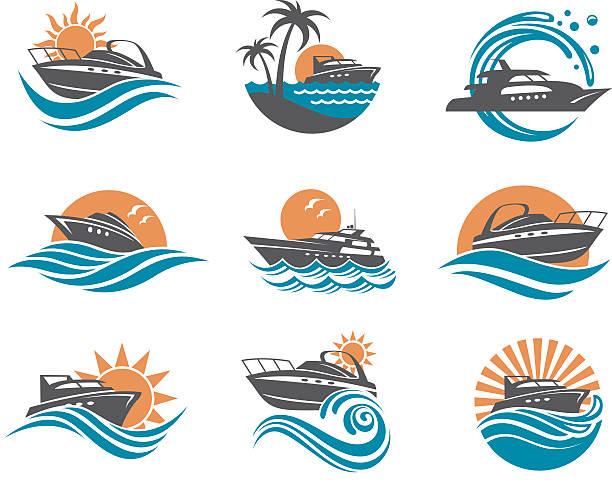 Best Speed Boat Illustrations, Royalty.