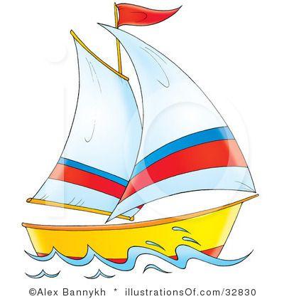 sail boatclip art free.