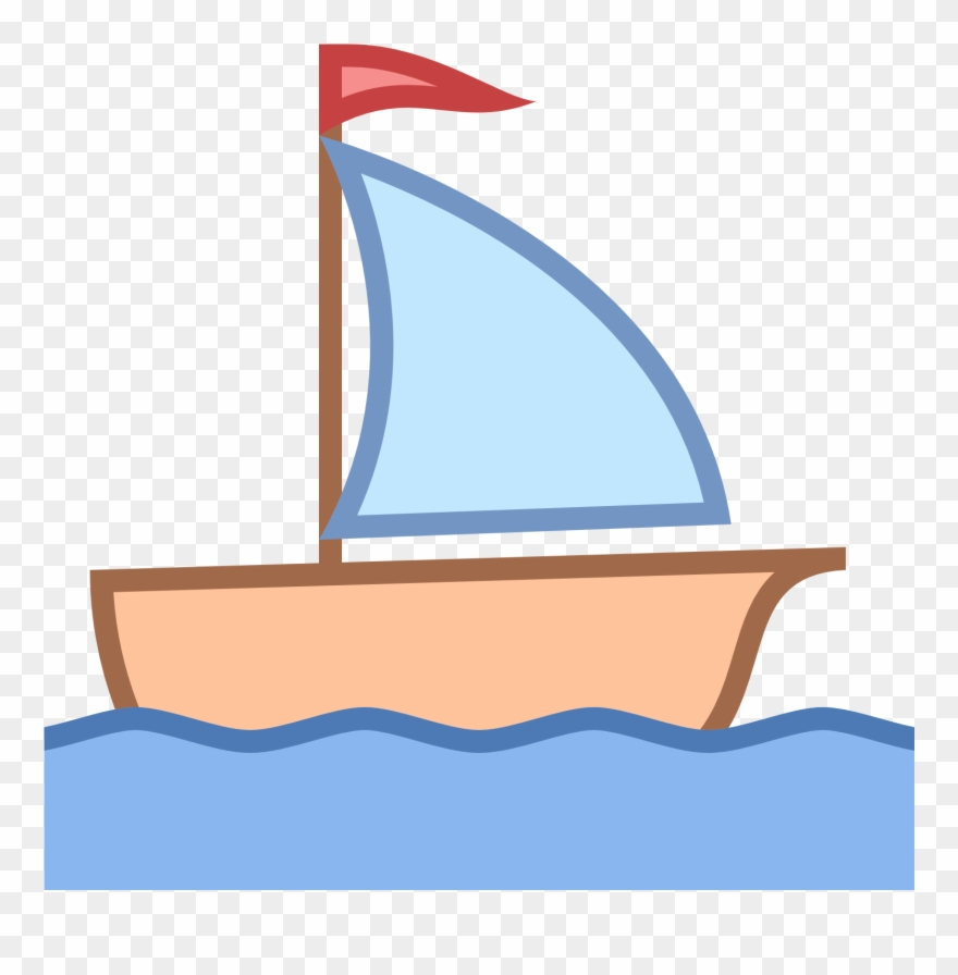 Sailing Boat Clipart Little Boat.