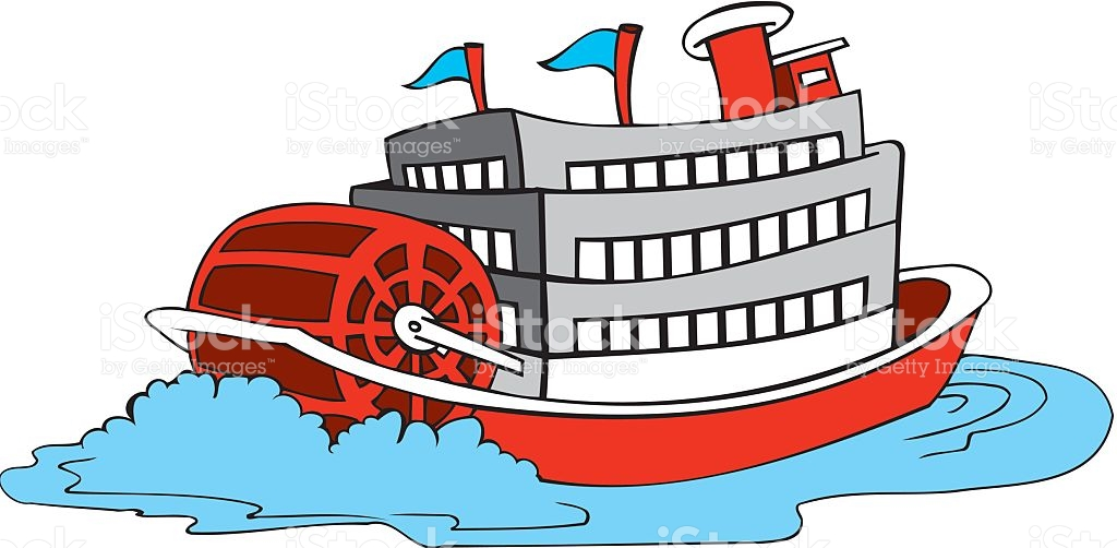 Paddle Boat Clip Art, Vector Images & Illustrations.