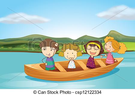 Row Boat Clipart And Stock Illustrations 2340 Vector