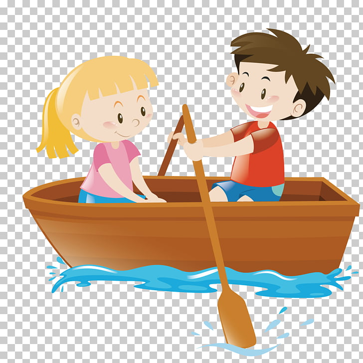 Rowing Boat , cruise lake PNG clipart.