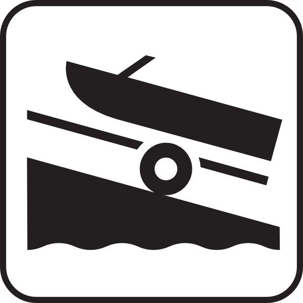 Boat Launch White Clip Art at Clker.com.