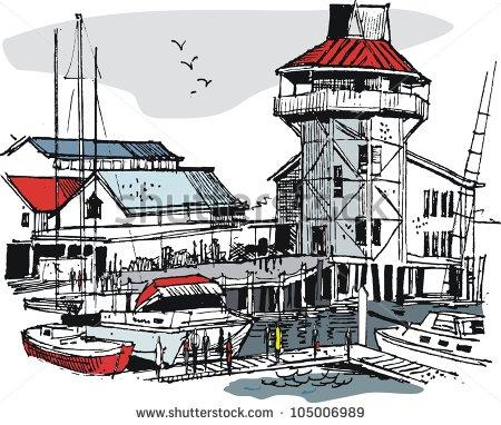 Boat Mooring Stock Vectors, Images & Vector Art.
