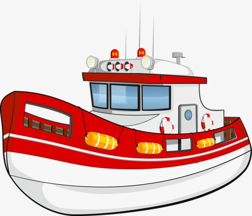 Cartoon Ship, Water Tools, Steamship, Sailboat PNG Image and Clipart.