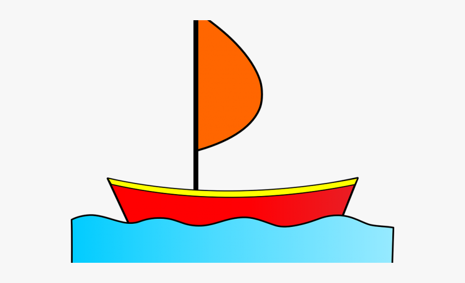 Water Boat Cliparts.