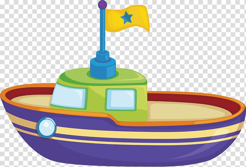 Boat Toy, Ship element transparent background PNG clipart.