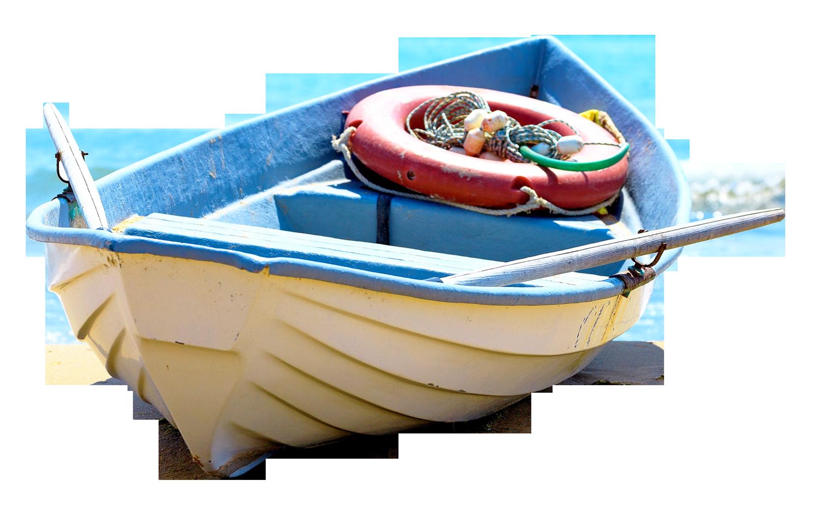Fishing Boat PNG Transparent Image.