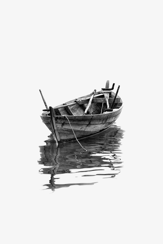 Wooden Boat, Boat Clipart, Ink Ship PNG Transparent Image and.