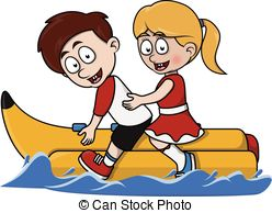 Banana boat ride Clip Art and Stock Illustrations. 34 Banana boat.