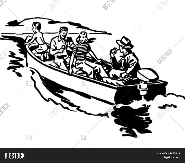 Boat ride clipart.