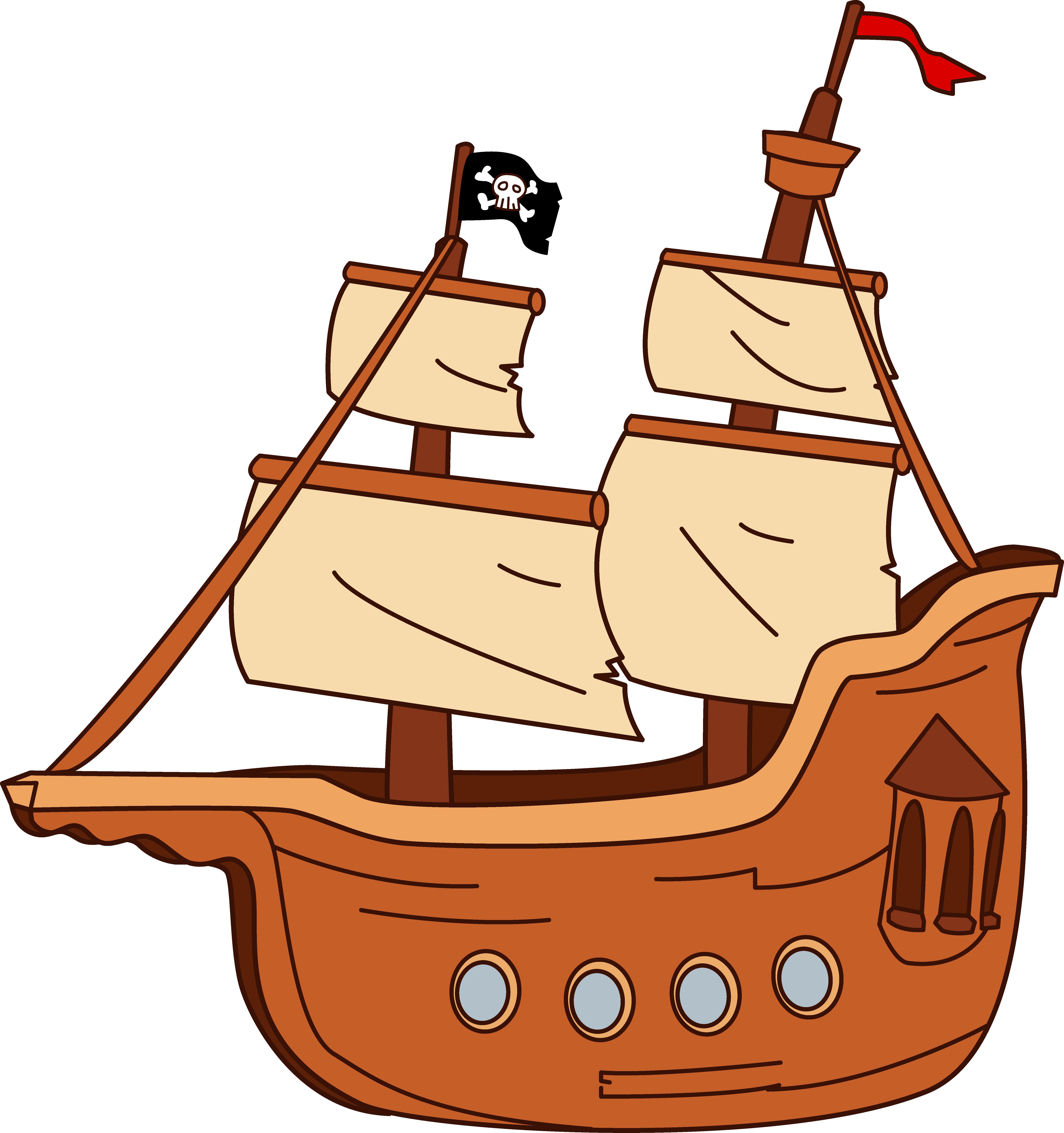 Boat ship clipart.