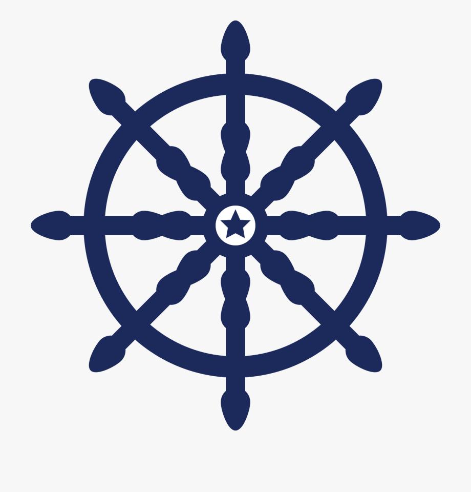 Ship Wheel Clip Art , Png Download.
