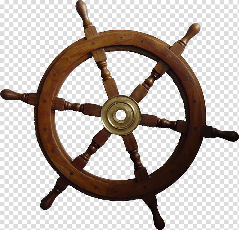 Ship\\\'s wheel Maritime transport Wood Anchor, anchor.