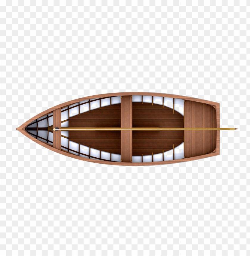 wood boat free png image.