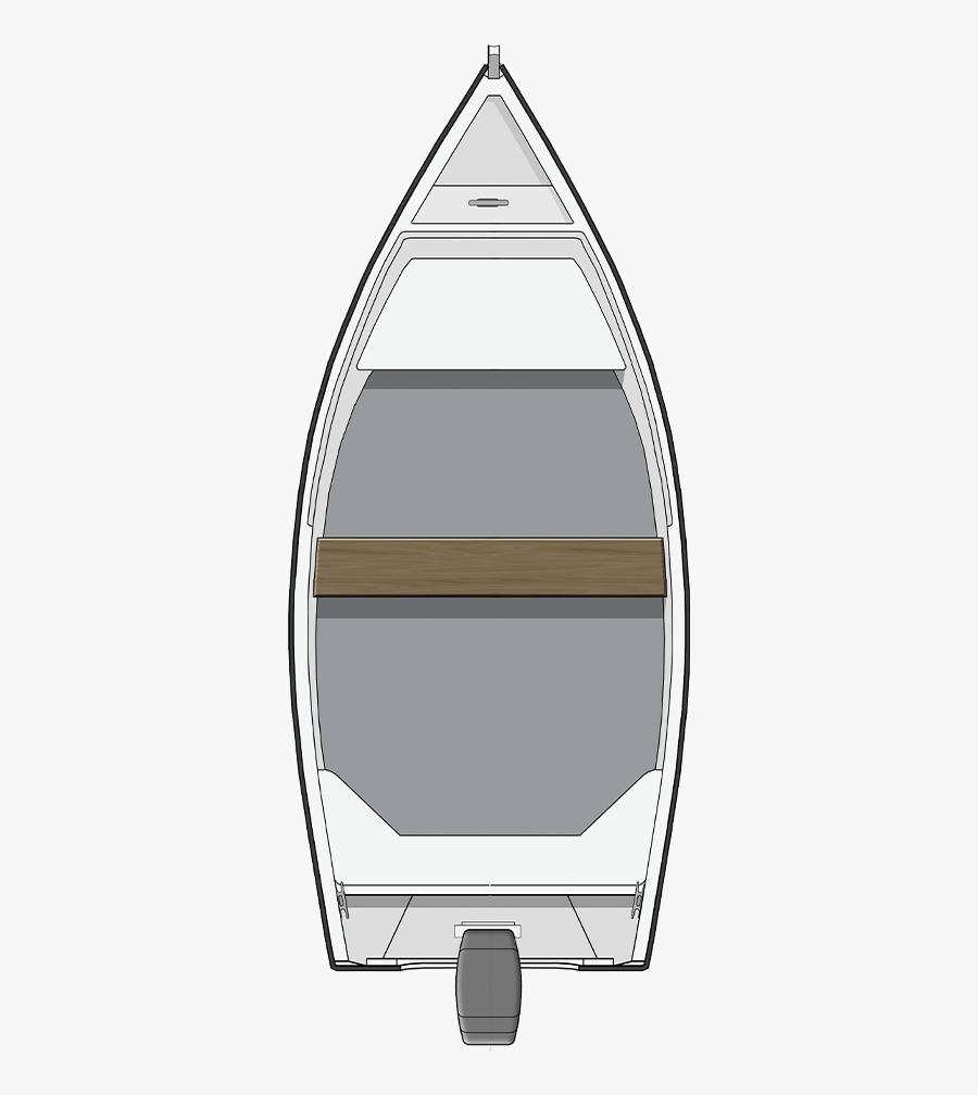 Fishing Boat Top View Png , Free Transparent Clipart.