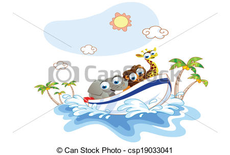 Boat ride Clip Art Vector and Illustration. 697 Boat ride clipart.