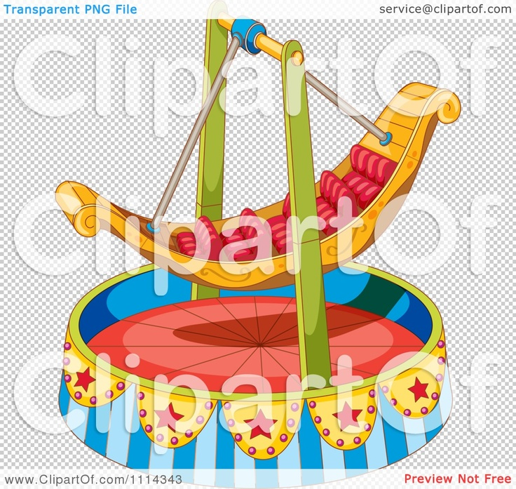 Log Boat Ride Clipart.