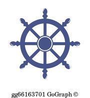 Ship Wheel Clip Art.