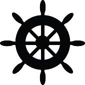 Boat Wheel Cliparts 4.