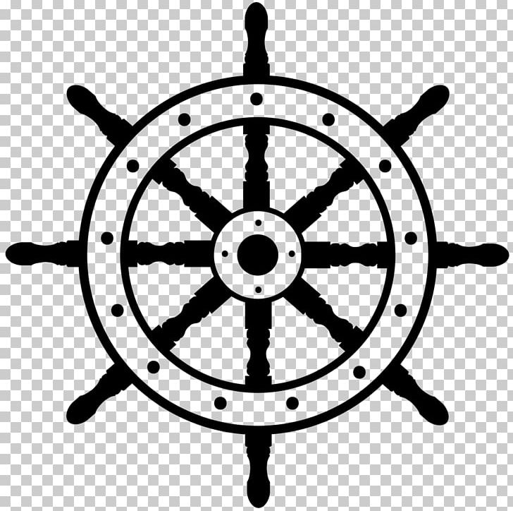 Ship's Wheel Boat PNG, Clipart, Anchor, Black And White, Boat, Cars.
