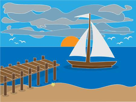 Clipart boat dock 4 » Clipart Station.