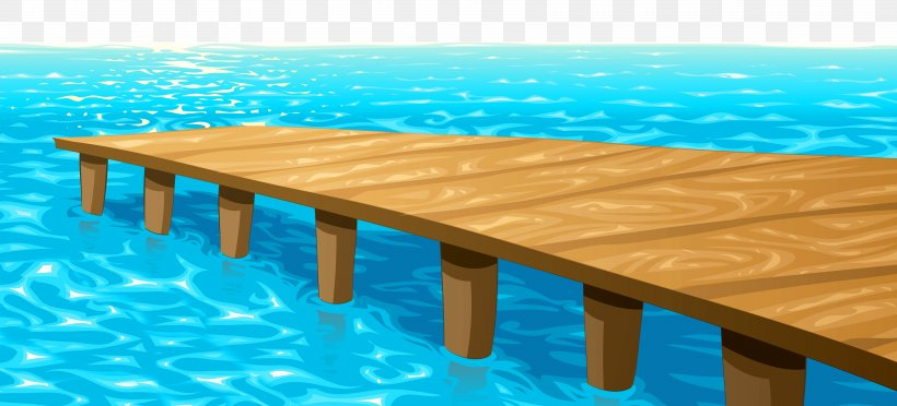 Sea Clip Art, PNG, 6822x3100px, Dock, Aqua, Boat, Floor.