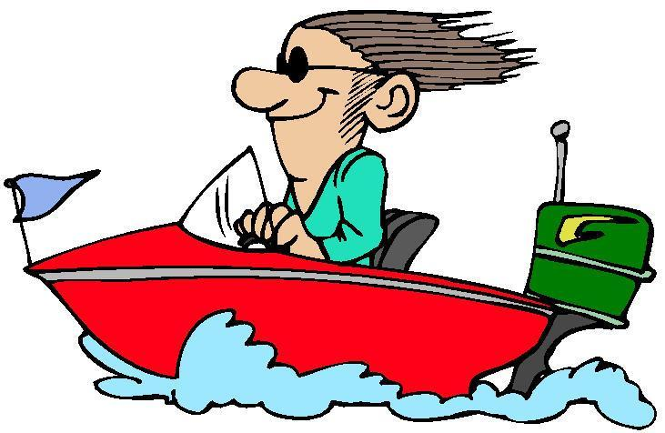 Free clipart chilling out boat water.