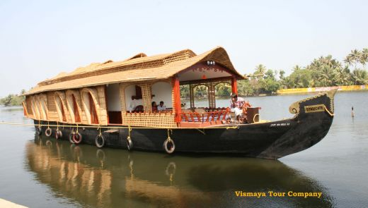 Clipart of houseboat.