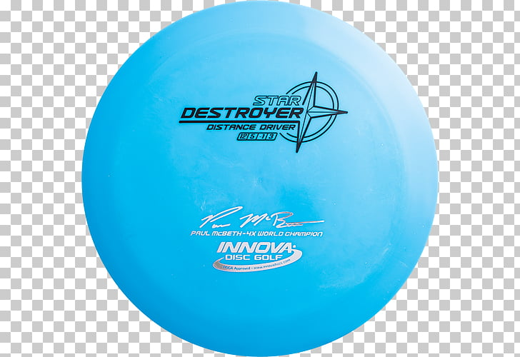 Disc Golf Star Destroyer Champion Innova Discs, boatman PNG.