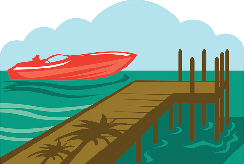 Power Boat Clip Art, Vector Images & Illustrations.