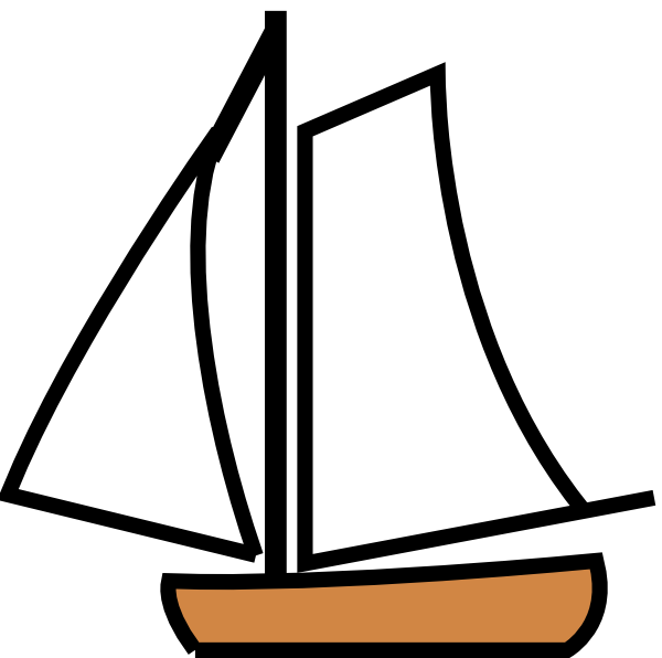 Cartoon Boats Clipart.