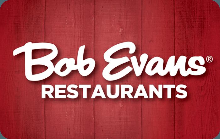 Bob Evans Gift Card.
