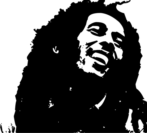 Bob marley free vector download (44 Free vector) for commercial.