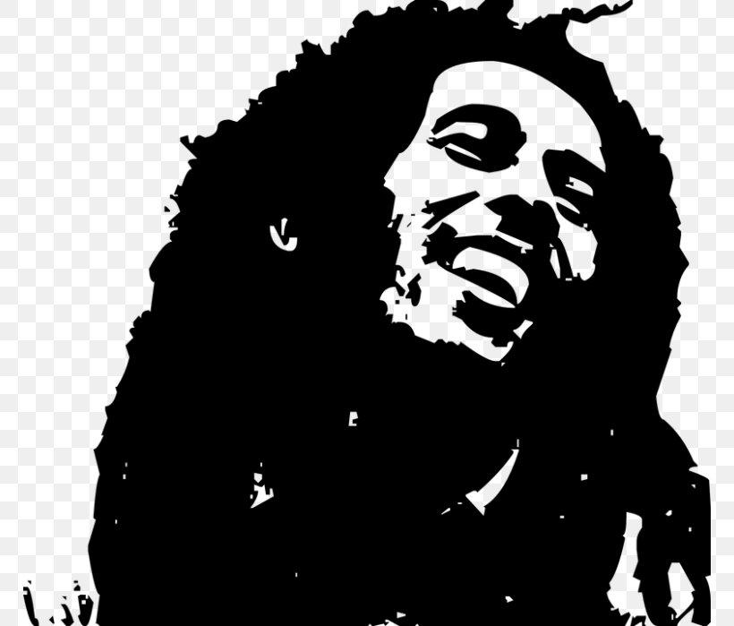 Bob Marley Clip Art, PNG, 768x699px, Bob Marley, Art, Black.