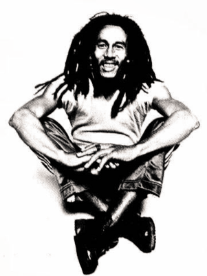 Bob Marley PNG images free download.