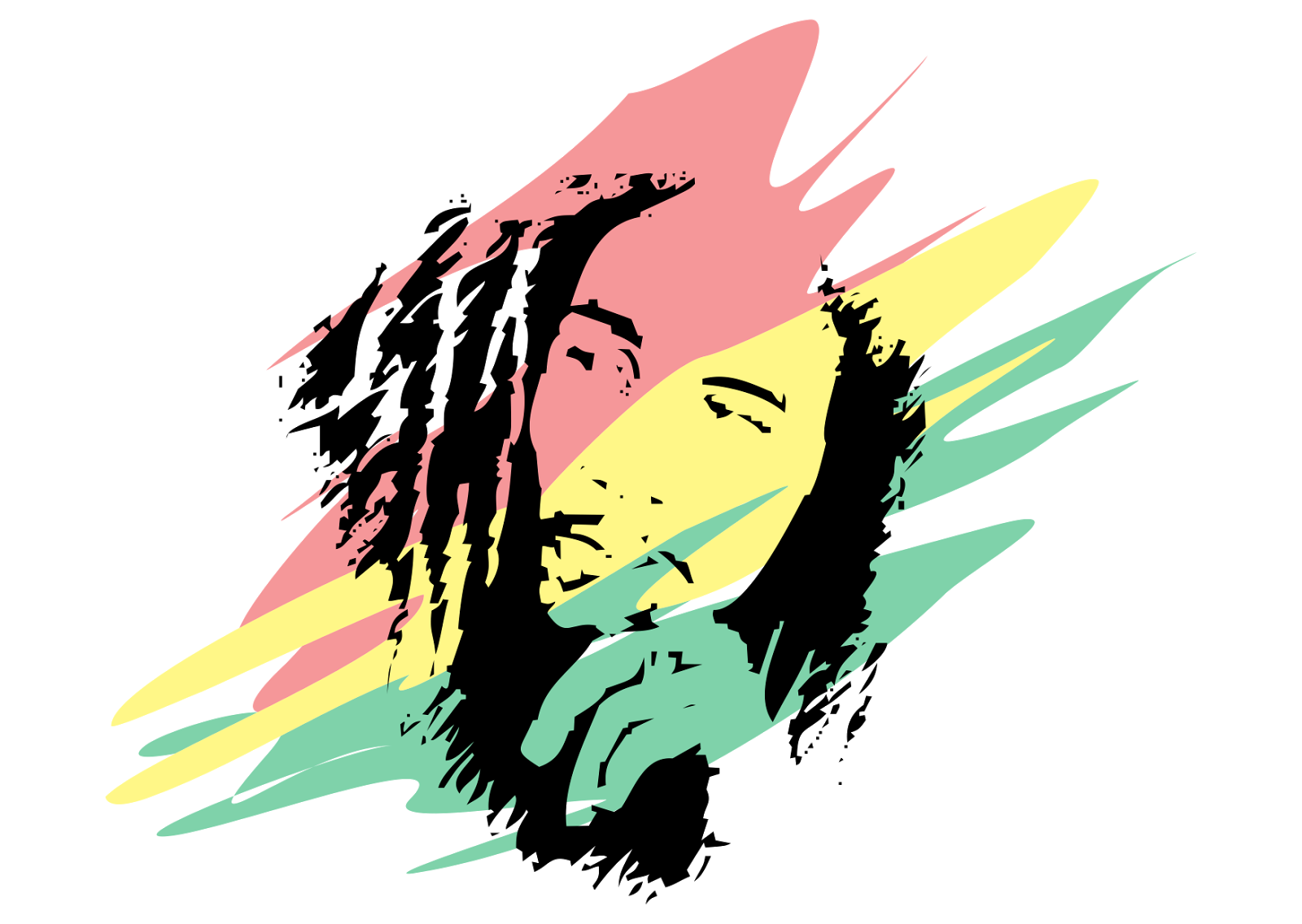 Download Bob Marley PNG HD For Designing Projects.