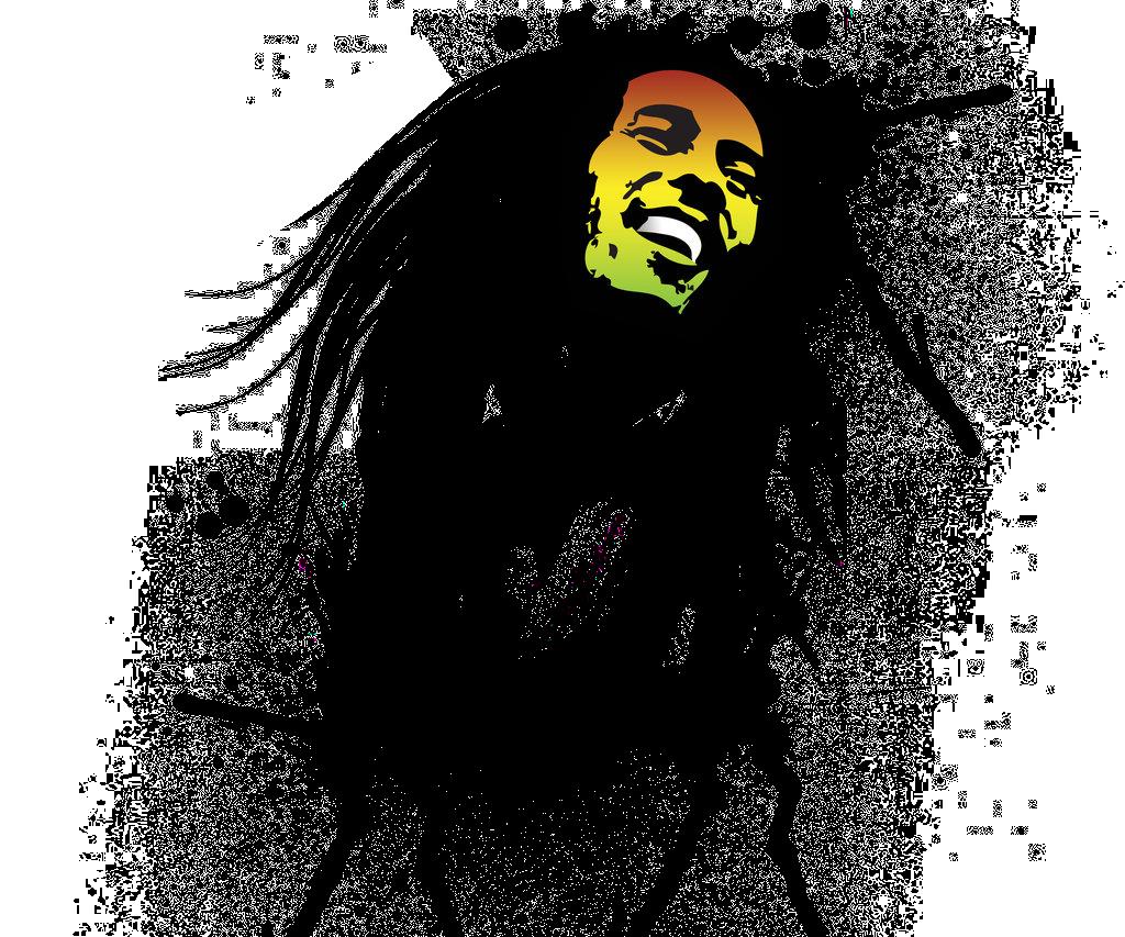 Bob Marley PNG Image.