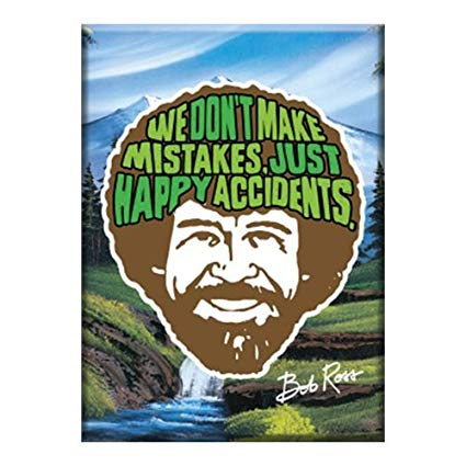 Buy Bob Ross Logo Flat Magnet Online at Low Prices in India.