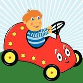 Driving car Clip Art Vector Graphics. 36,251 driving car EPS.