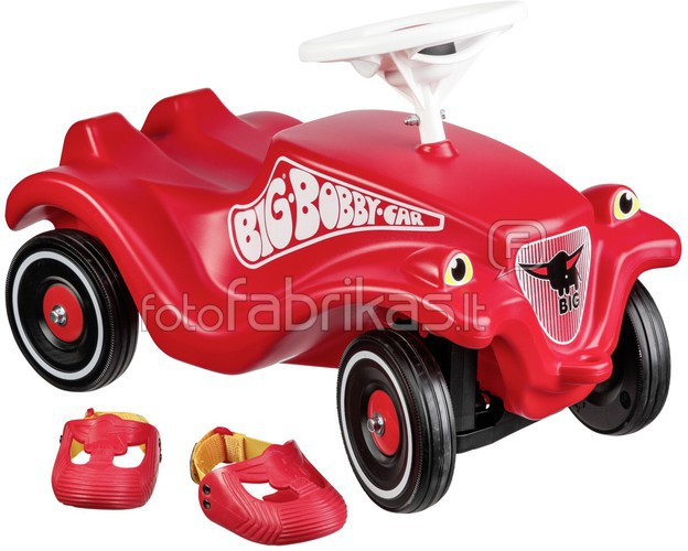 BIG Bobby Car Classic incl Whisper Wheels + Shoe Care.