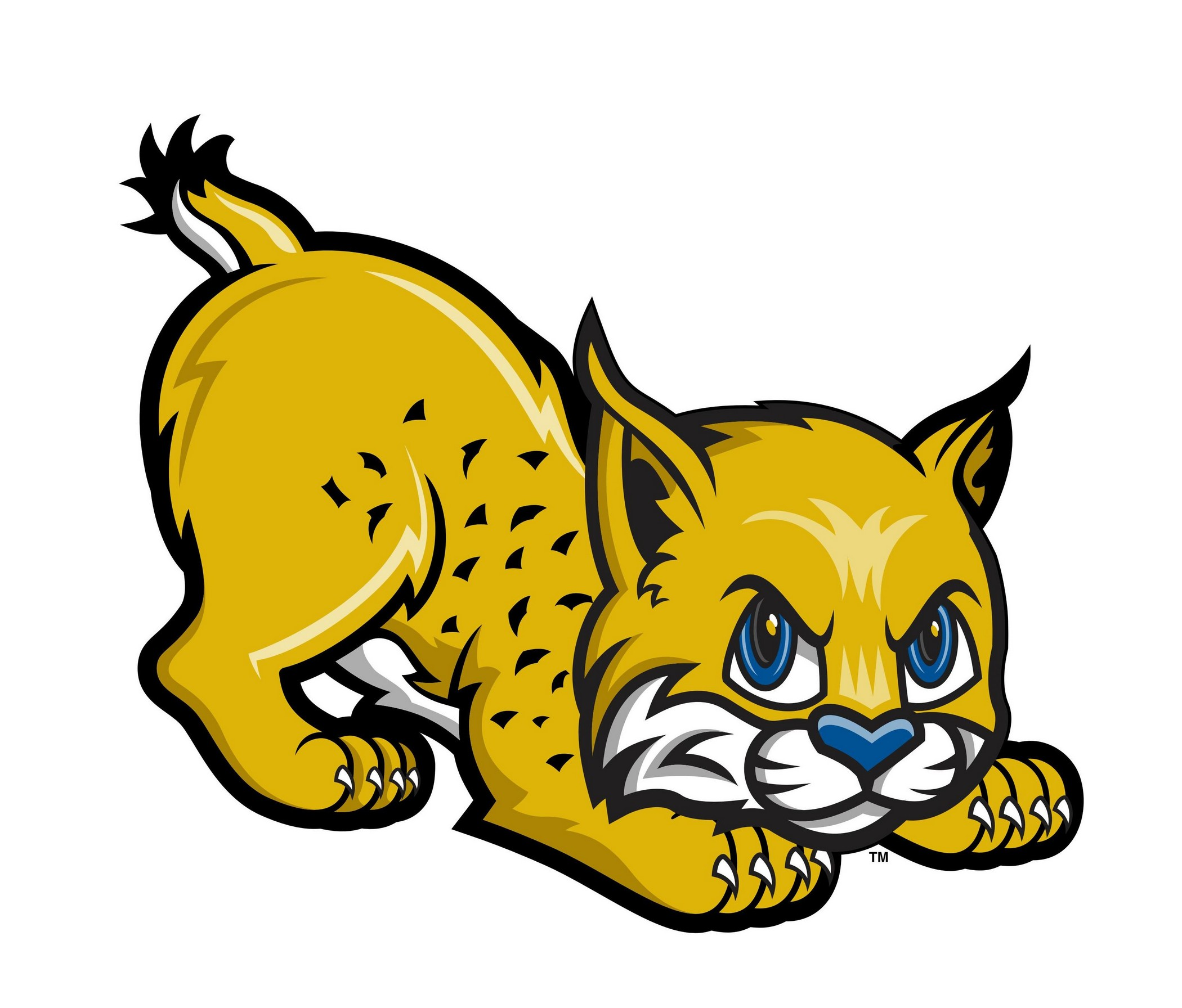 red bobcat clipart ani...
