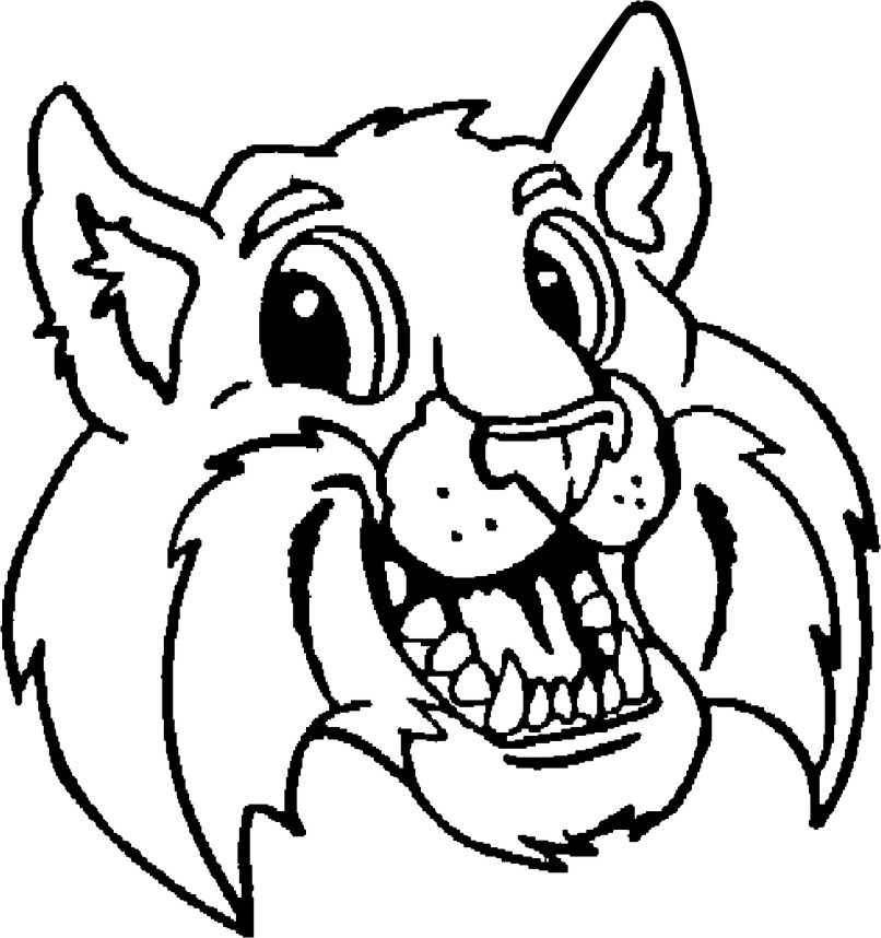 Free Bobcat Clipart Black And White, Download Free Clip Art.
