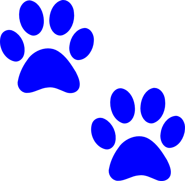 Bobcat Paw Print Clip Art.