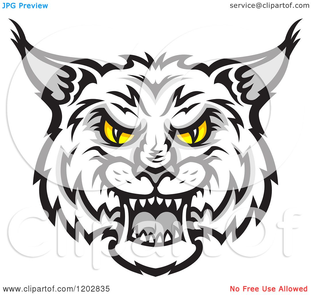 Free Bobcat Clip Art Illustrations.